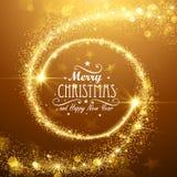 Estrelas do Natal ilustração royalty free