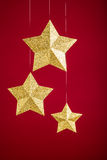 Estrelas do ouro Imagem de Stock Royalty Free