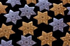 Estrelas do Sequin Foto de Stock
