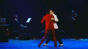 Estrelas do tango - Sabor del Tango do mundo vídeos de arquivo