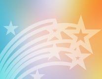 Estrelas do vôo Fotografia de Stock