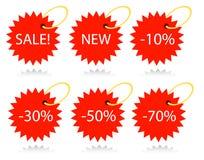 Estrelas do vetor Imagem de Stock