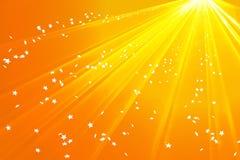 Estrelas douradas Imagem de Stock Royalty Free