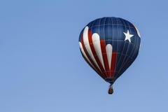 Estrelas e balão das listras Imagens de Stock Royalty Free
