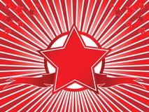 Estrelas e fita Imagem de Stock