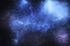 Estrelas e nebulosa no universo fotos de stock royalty free
