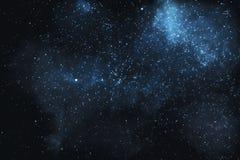 Estrelas e nebulosa no universo fotografia de stock