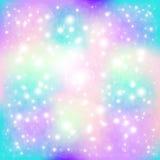Estrelas e partículas ilustração do vetor