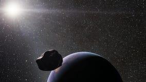Estrelas e planetas ilustração royalty free
