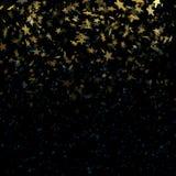 Estrelas em fundo abstrato mágico defocused do borrão Eps 10 ilustração do vetor