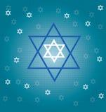 Estrelas judaicas Fotos de Stock Royalty Free