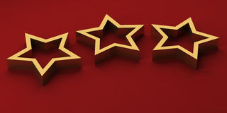Estrelas luxuosas Fotografia de Stock Royalty Free