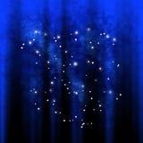 Estrelas na galáxia Fotos de Stock