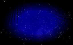 Estrelas na noite Fotos de Stock