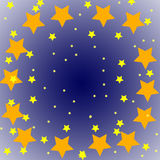 Estrelas no céu Fotografia de Stock Royalty Free