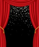 Estrelas no estágio Foto de Stock Royalty Free