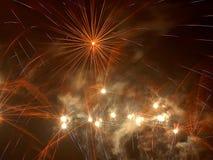 Estrelas pelo ano novo fotografia de stock royalty free