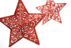Estrelas - primeiro plano e fundo Fotografia de Stock Royalty Free