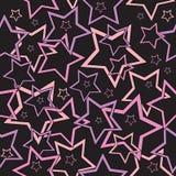 Estrelas sem emenda Imagem de Stock
