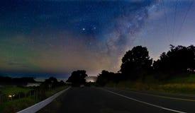 Estrelas sobre Wenderholm foto de stock