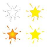 Estrelas Sparkling Fotos de Stock
