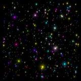 Estrelas Variegated Imagens de Stock Royalty Free