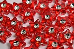 Estrelas vermelhas Fotos de Stock