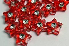 Estrelas vermelhas Imagem de Stock Royalty Free