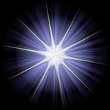 Estrella 2 de la Navidad Foto de archivo libre de regalías