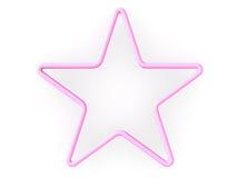 estrella 3d Imagen de archivo libre de regalías