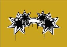 Estrella abstracta Foto de archivo libre de regalías
