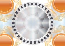 estrella abstracta dinámica del fondo Fotografía de archivo libre de regalías