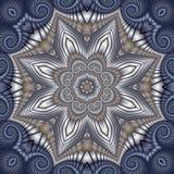 Estrella acolchada del invierno Imagen de archivo