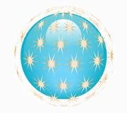 Estrella alrededor de global Ilustración del Vector