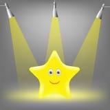 Estrella amarilla Fotos de archivo