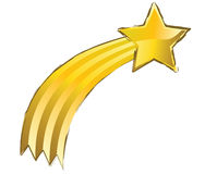 Estrella amarilla que tira libre illustration
