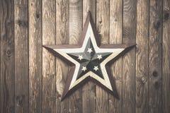 Estrella americana Imagen de archivo libre de regalías
