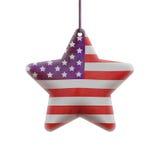 Estrella americana Fotos de archivo