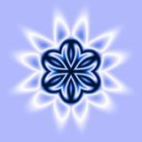 Estrella azul Imagenes de archivo