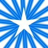 Estrella blanca Imagenes de archivo