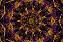 Estrella caleidoscópica ilustración del vector