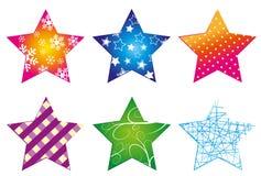 Estrella-colección Foto de archivo