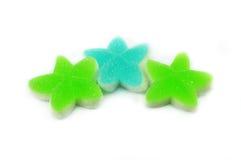 Estrella colorida de la jalea Foto de archivo