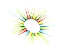 Estrella colorida de la radiación Fotografía de archivo