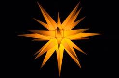 Estrella de Belén Foto de archivo