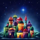 Estrella de bethlehem Fotos de archivo libres de regalías
