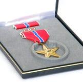 Estrella de bronce Foto de archivo