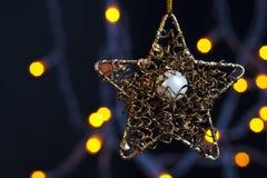 Estrella de Christmass Imágenes de archivo libres de regalías