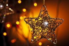 Estrella de Christmass Imagenes de archivo