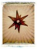 Estrella de cristal Imágenes de archivo libres de regalías